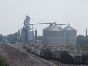 SKS Engineers provided grain elevator engineering for AgRail in Bloomington, including subsurface investigations and geotechnical reporting with recommendations.