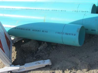 civil.sanitary sewer pipe