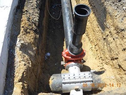 civil.water main tap
