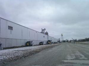 SKS Engineering Cargill, Inc., Dana, Indiana completed