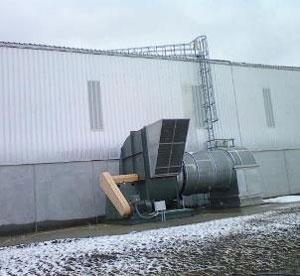 SKS Engineering Cargill, Inc., Dana, Indiana completed
